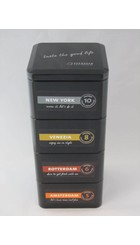 Espressocupcenter.nl Bewaarblik 4-delig