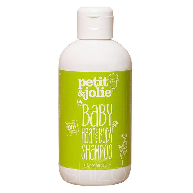 Petit & Jolie Baby Haar & Body Shampoo 200ml