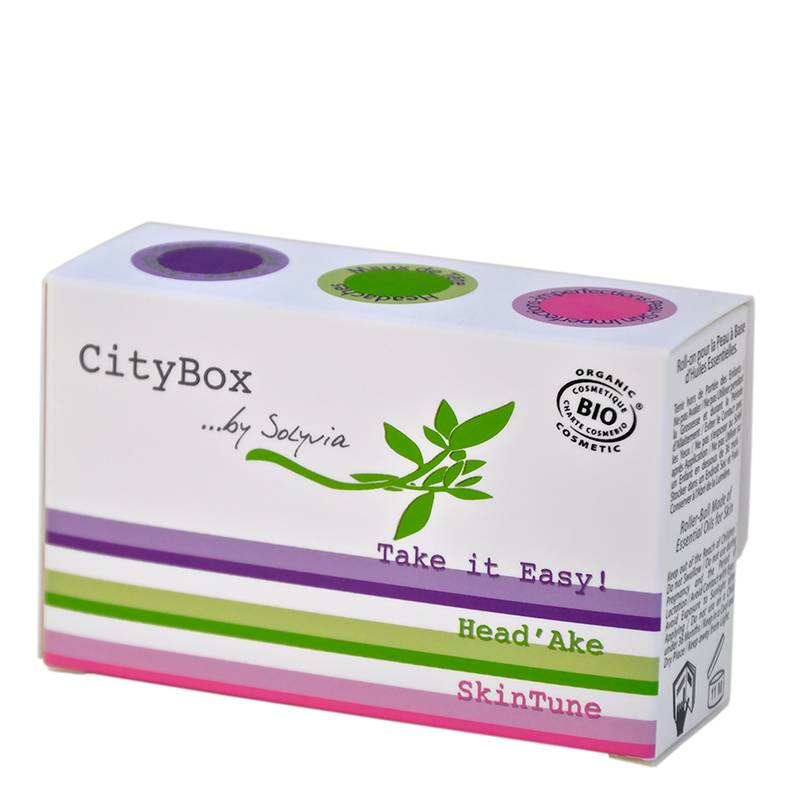 Solyvia CityBox Roll-on Skin Oils