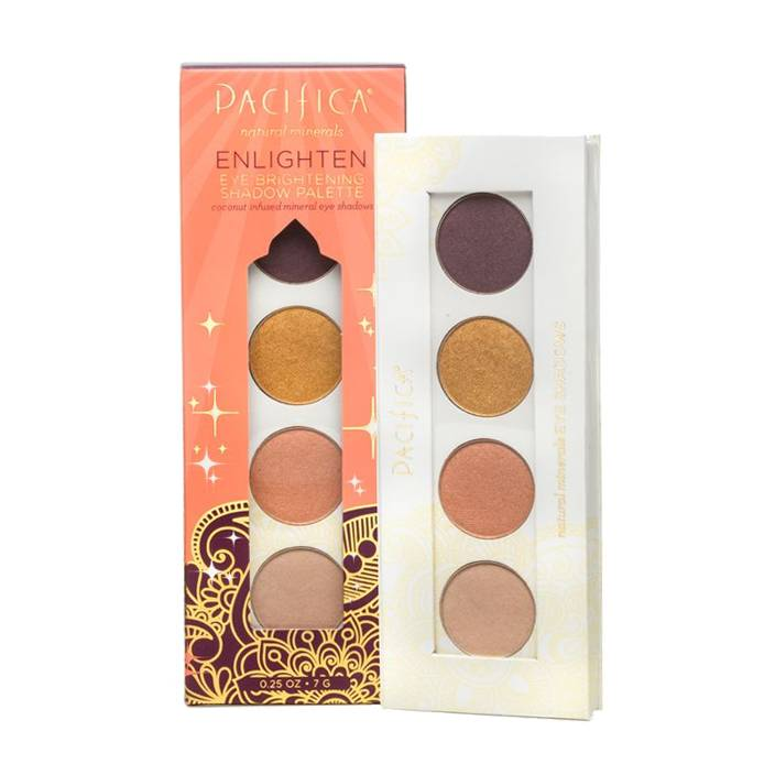 Pacifica Enlighten Eye Brightening Shadow Palette