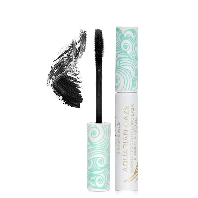 Pacifica Aquarian Gaze Water-Resistant Long Lash Mineral Mascara Abyss Black