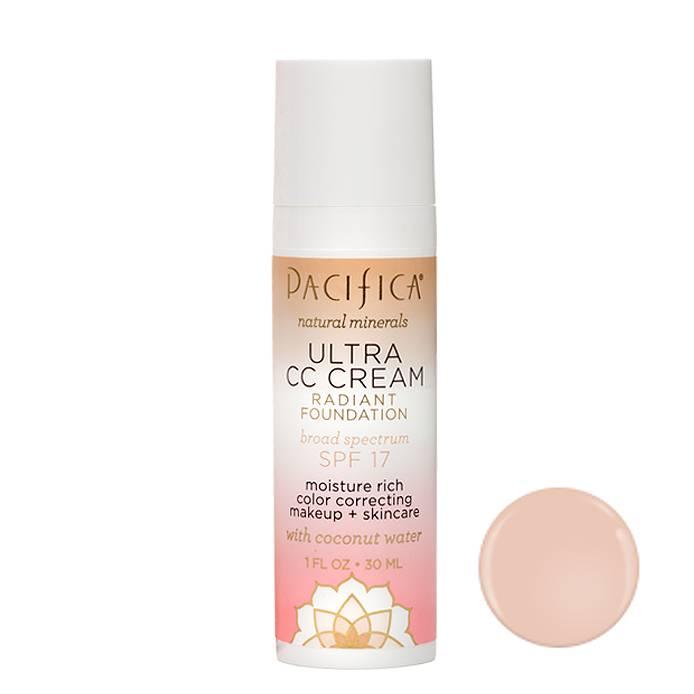 Pacifica Ultra CC Cream SPF17 Warm-Light 30ml