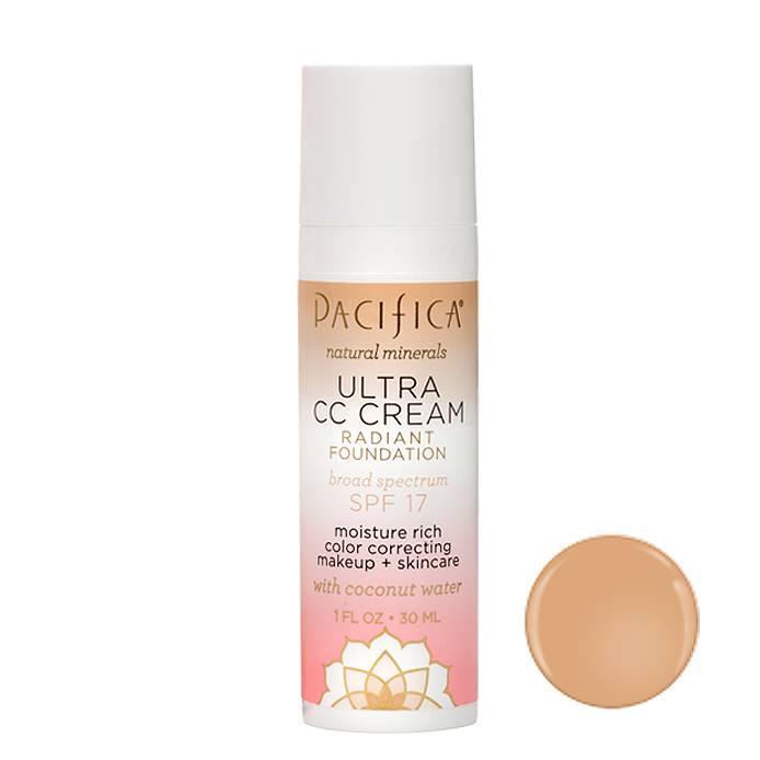 Pacifica Ultra CC Cream SPF17 Natural-Medium 30ml