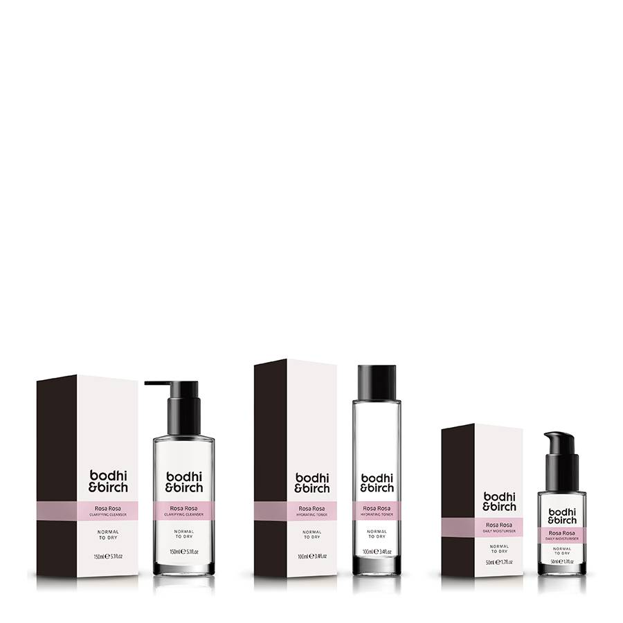 Bodhi & Birch Rosa Rosa Natural Skincare Set