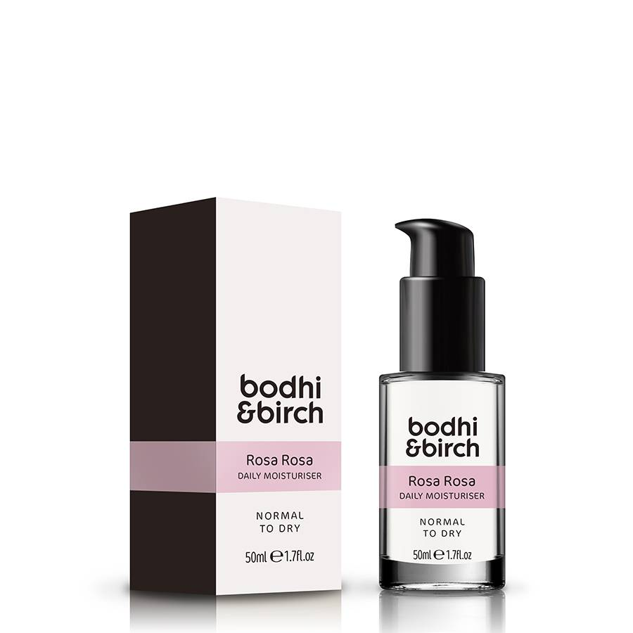 Bodhi & Birch Rosa Rosa Daily Moisturiser 50ml