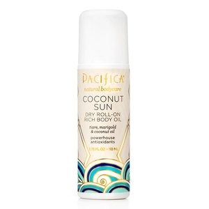 Pacifica Dry Roll-on Body Oil Coconut Sun