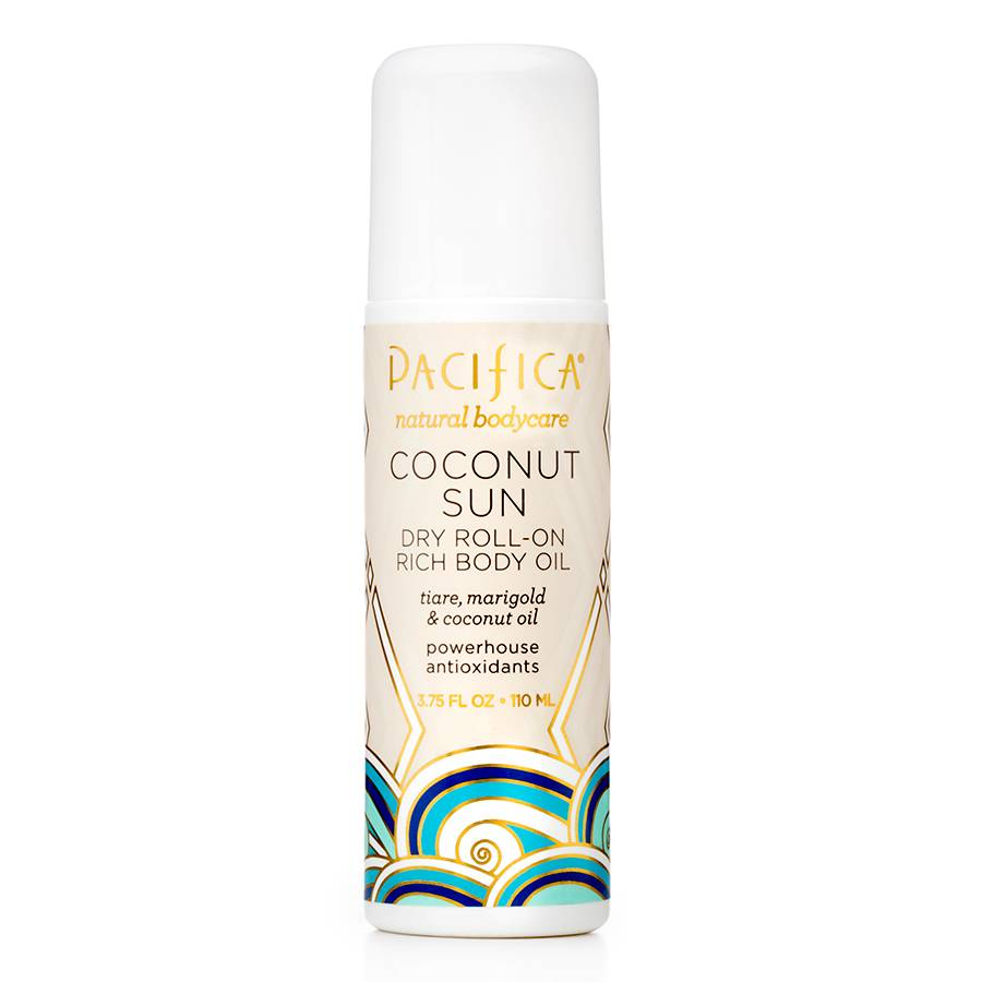 Pacifica Dry Roll-on Rich Body Oil Coconut Sun 110ml