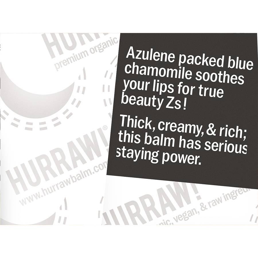 Hurraw! Moon Lip Balm Blue Chamomile Vanilla