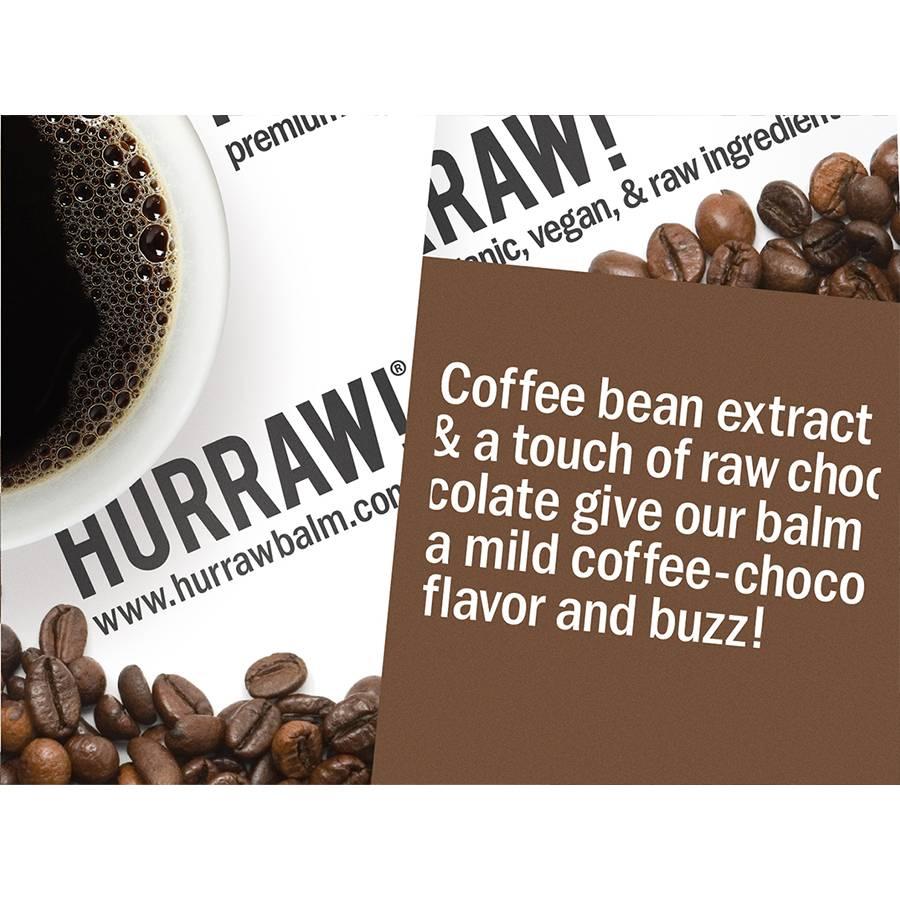 Hurraw! Coffee Bean Organic Lip Balm