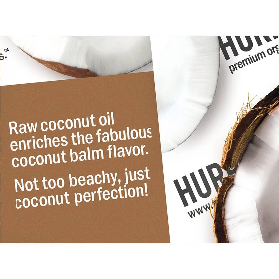 Hurraw! Coconut Organic Lip Balm