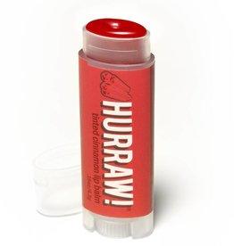 Hurraw! Cinnamon Tinted Organic Lip Balm