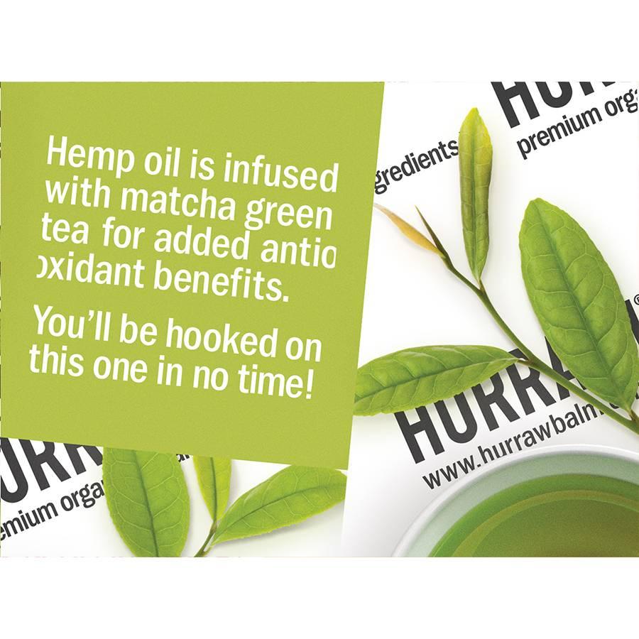 Hurraw! Green Tea Organic Lip Balm