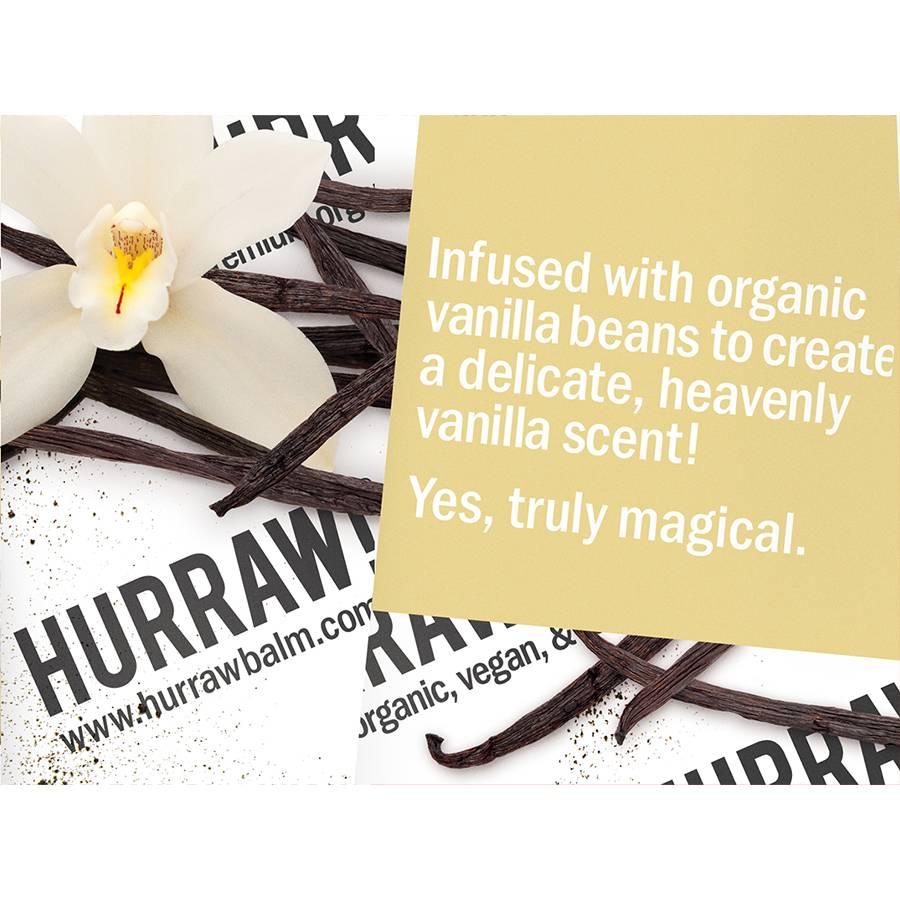 Hurraw! Vanilla Organic Lip Balm