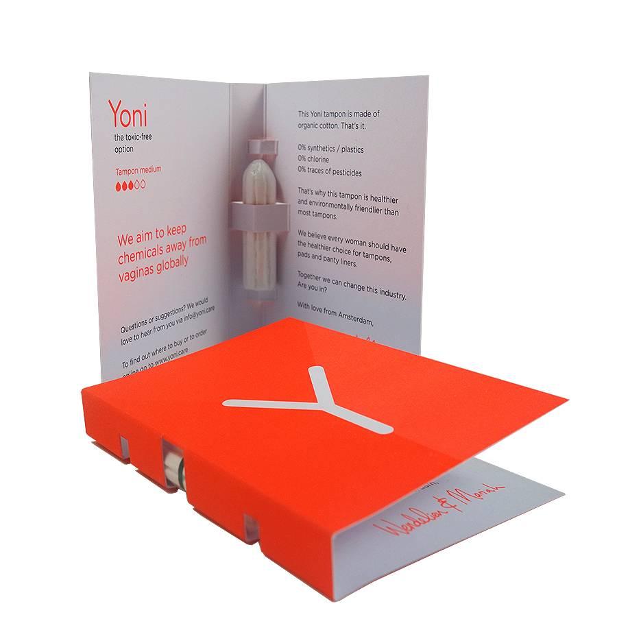 Yoni Tampons Medium Sample