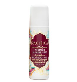 Pacifica Dry Roll-on Body Oil Tunisian Jasmine Lime