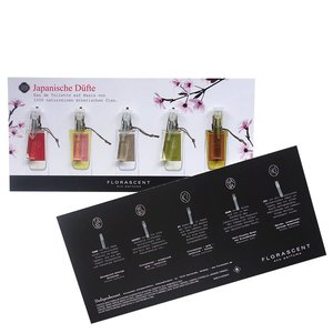 Florascent Japanse Eco Parfums Eau de Toilette Sample Set