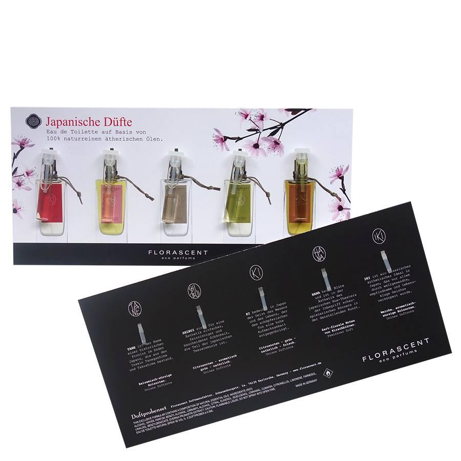 Florascent Japanse Eco Parfums Eau de Toilette Sample Set