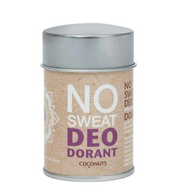 The Ohm Collection NO Sweat DEOdorant Poeder Coconuts