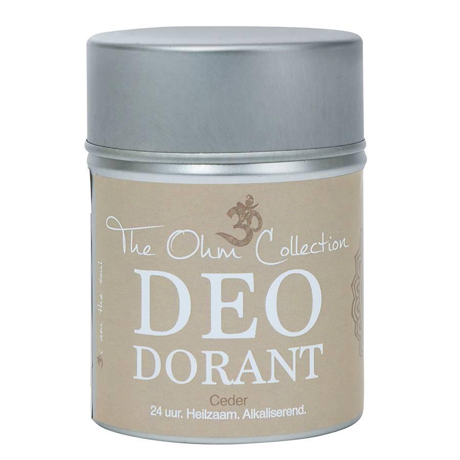 The Ohm Collection DEOdorant Poeder Ceder MINI