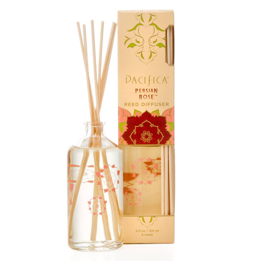 Pacifica Natural Reed Diffuser Persian Rose