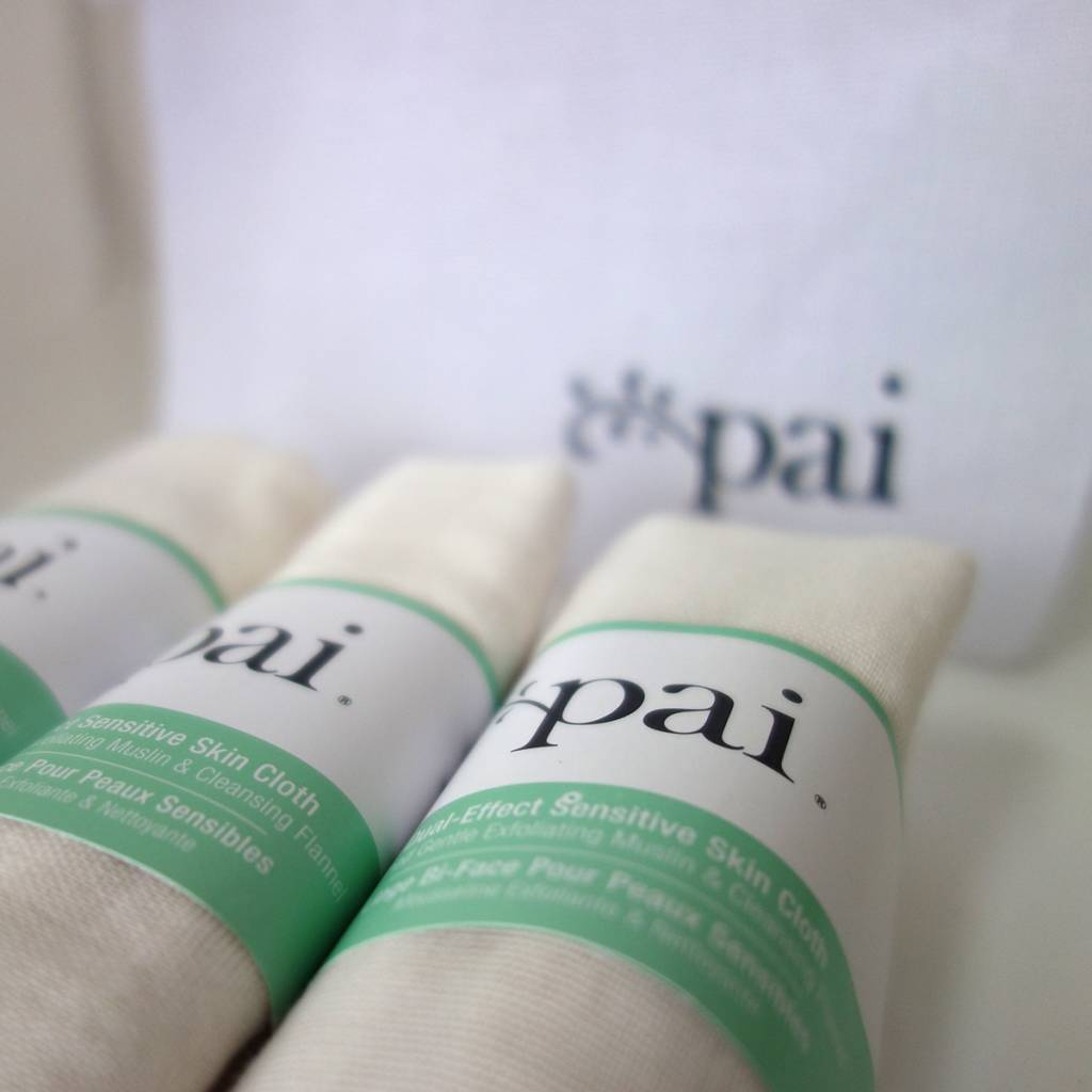 Pai Skincare Dual-Effect Sensitive Skin Cloth 3-Pack