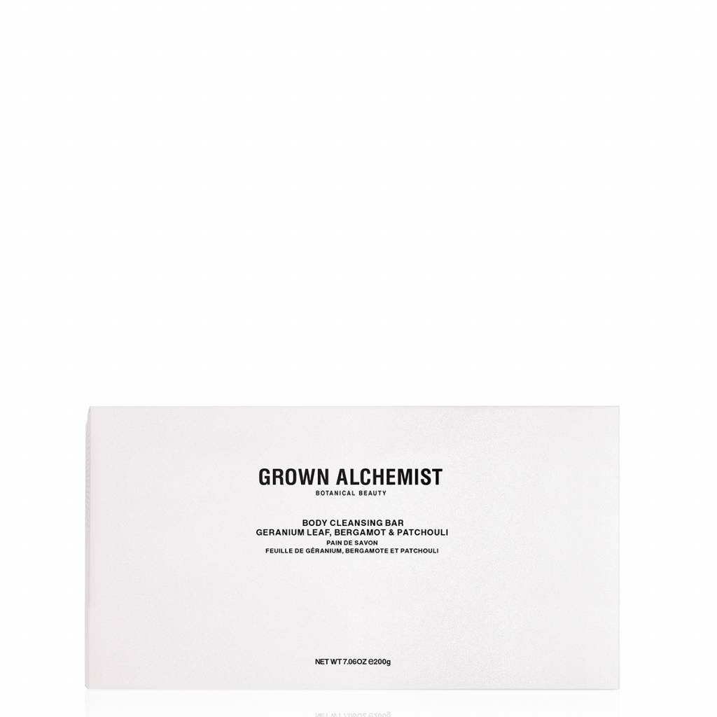Grown Alchemist Body Cleansing Bar Geranium Leaf, Bergamot & Patchouli