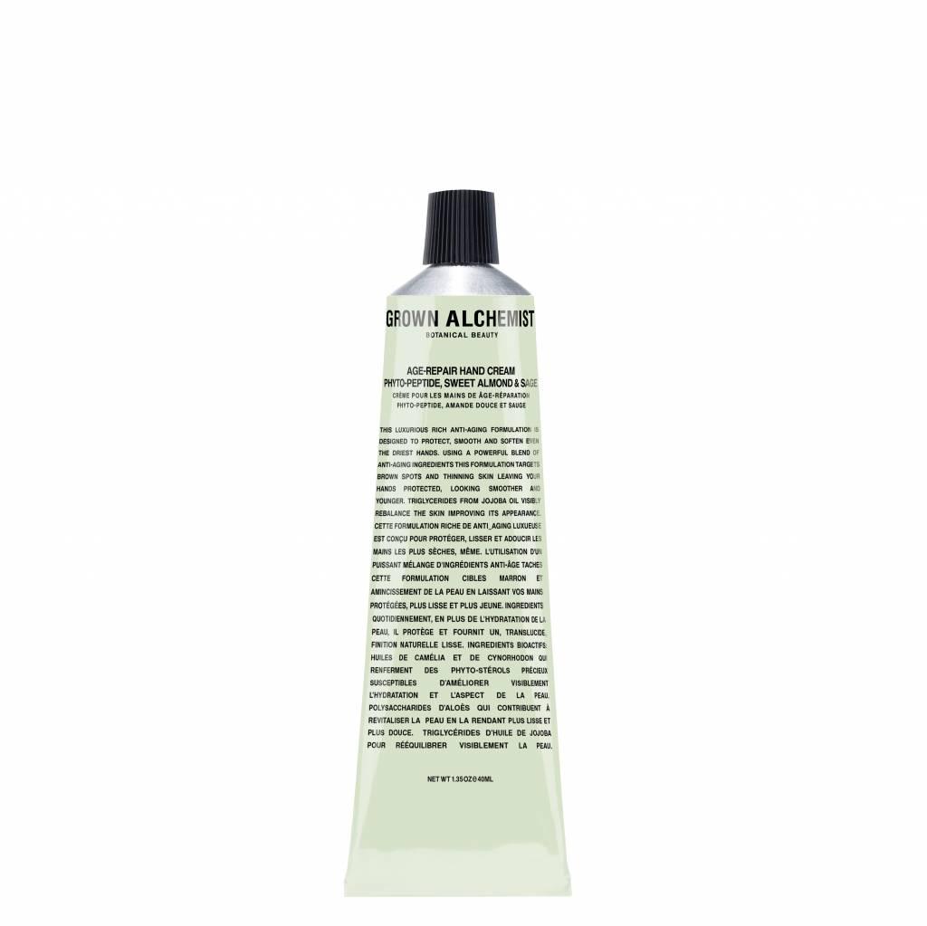 Grown Alchemist Age Repair Hand Cream Phyto-Peptide, Sweet Almond & Sage