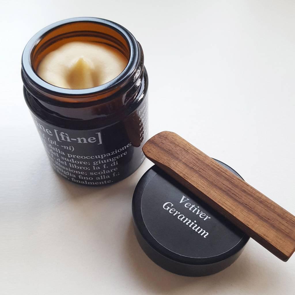 Fine Cream Deodorant Vetiver Geranium