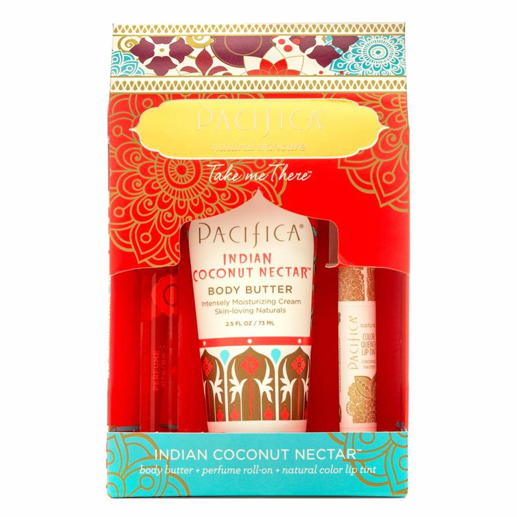Pacifica Take Me There Gift Set Indian Coconut Nectar
