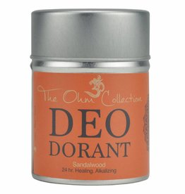 The Ohm Collection DEOdorant Poeder Sandalwood