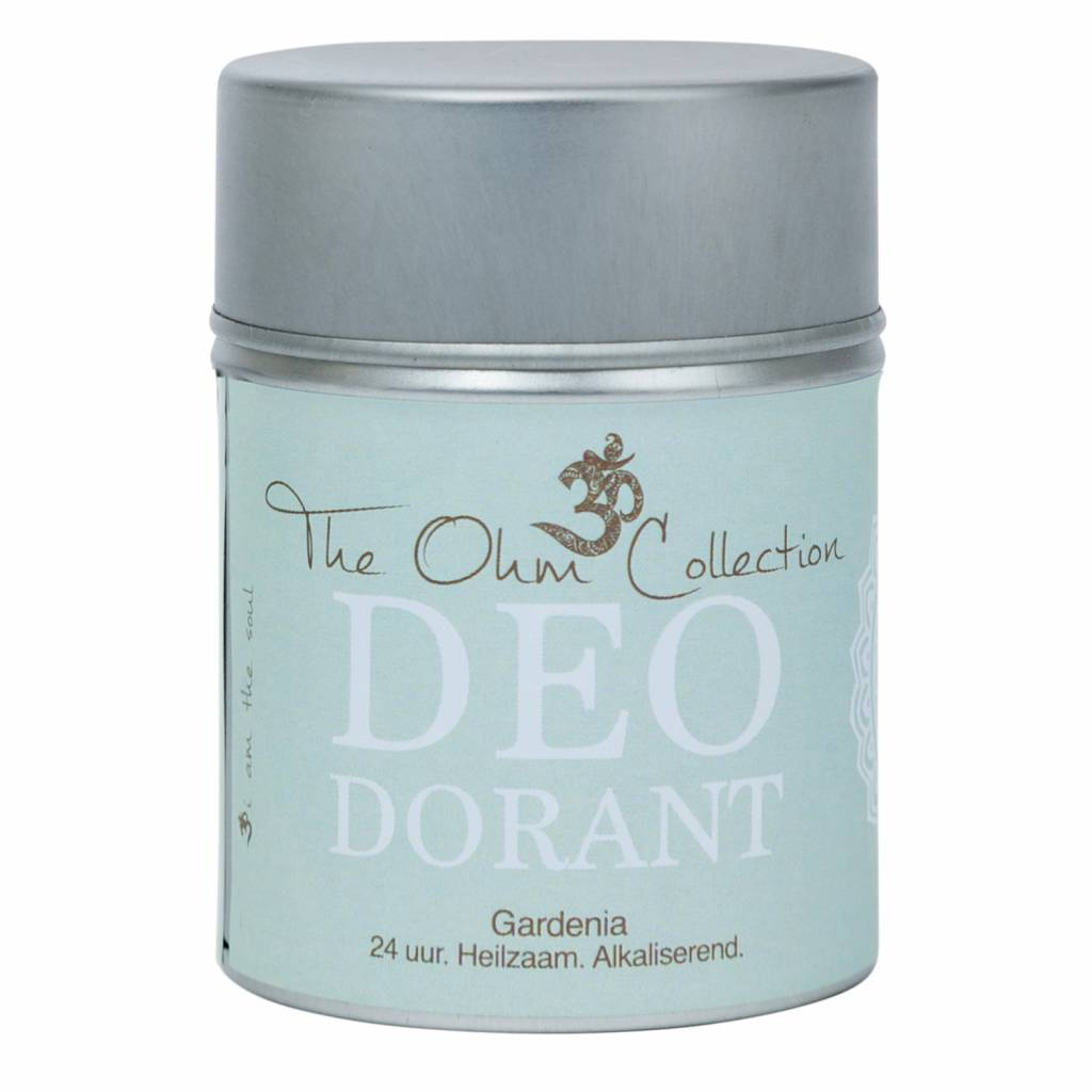 The Ohm Collection DEOdorant Poeder Gardenia