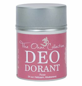The Ohm Collection DEOdorant Poeder Rose