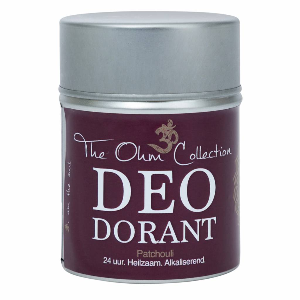 The Ohm Collection DEOdorant Poeder Patchouli