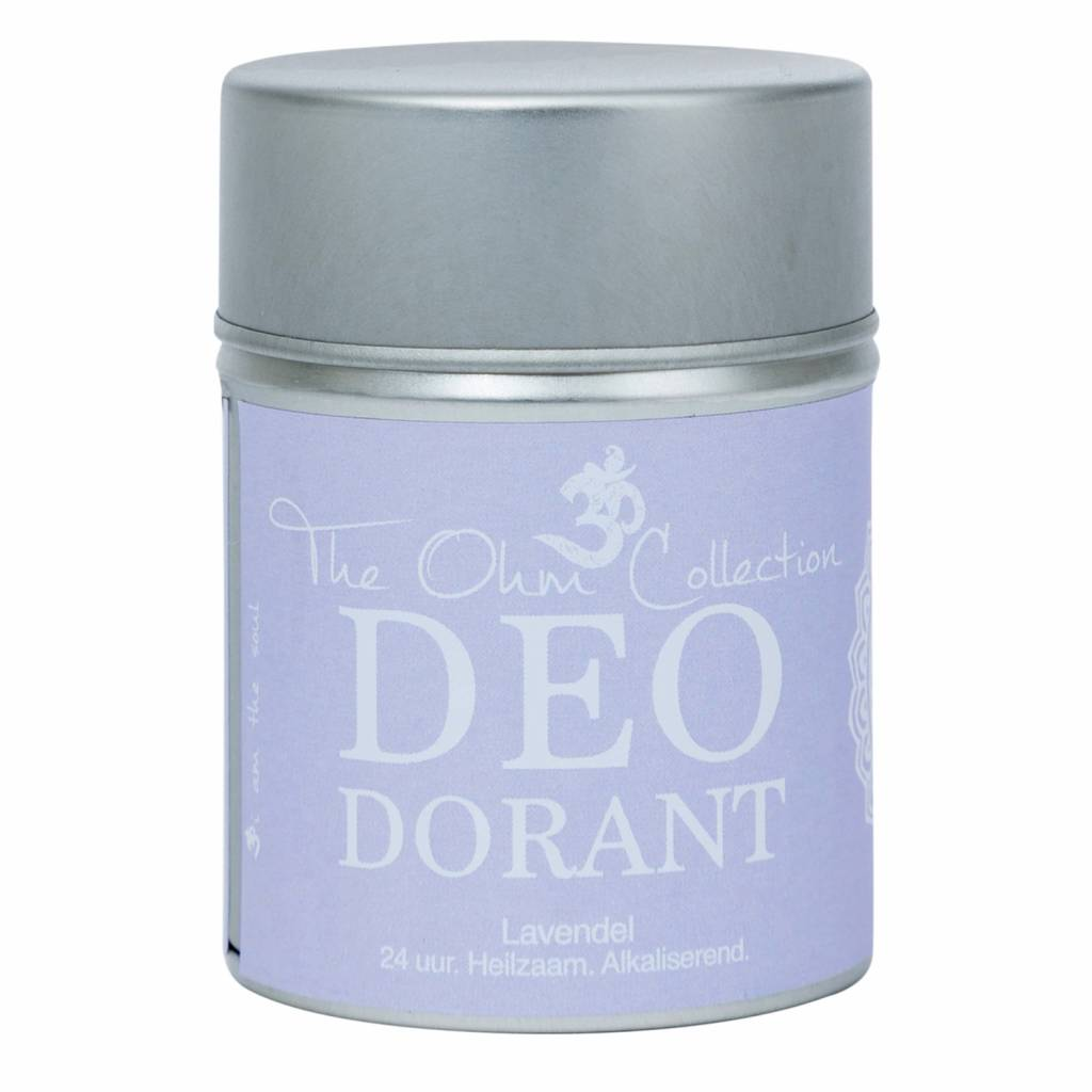The Ohm Collection DEOdorant Poeder Lavender