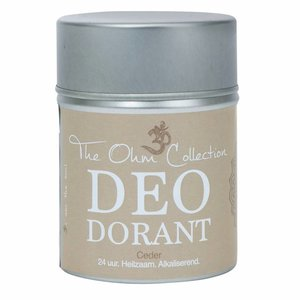 The Ohm Collection DEOdorant Poeder Ceder