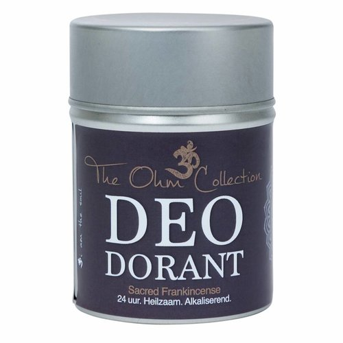 The Ohm Collection DEOdorant Poeder Frankincense