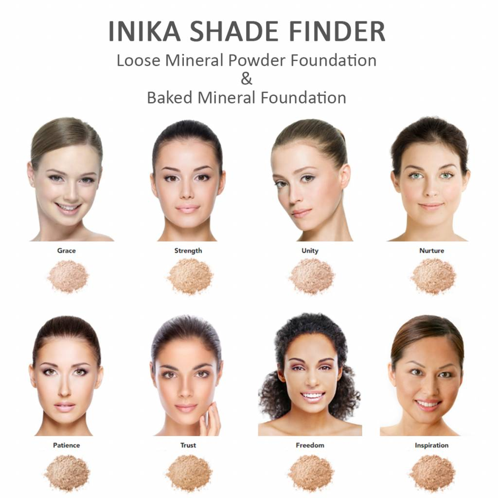 Inika Baked Mineral Foundation 3: Unity