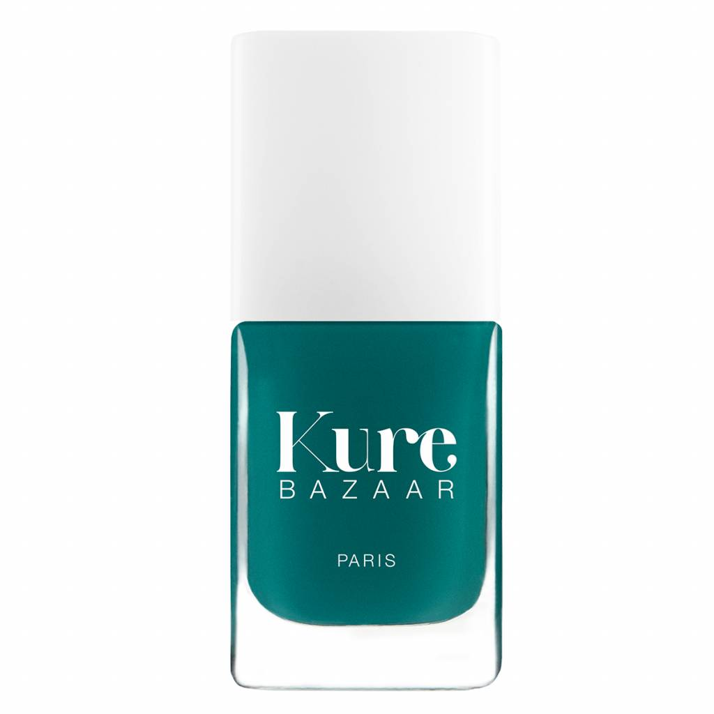 Kure Bazaar Green Love Nail Polish