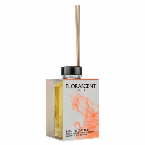 Florascent Natural Reed Diffuser Burning Incense
