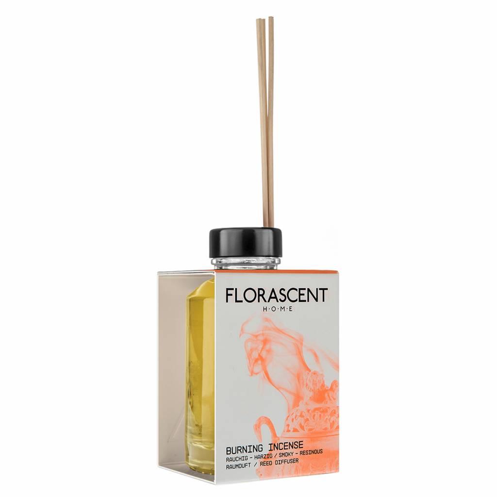 Florascent Natural Reed Diffuser Burning Incense
