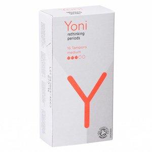 Yoni Tampons Biologisch Katoen Medium