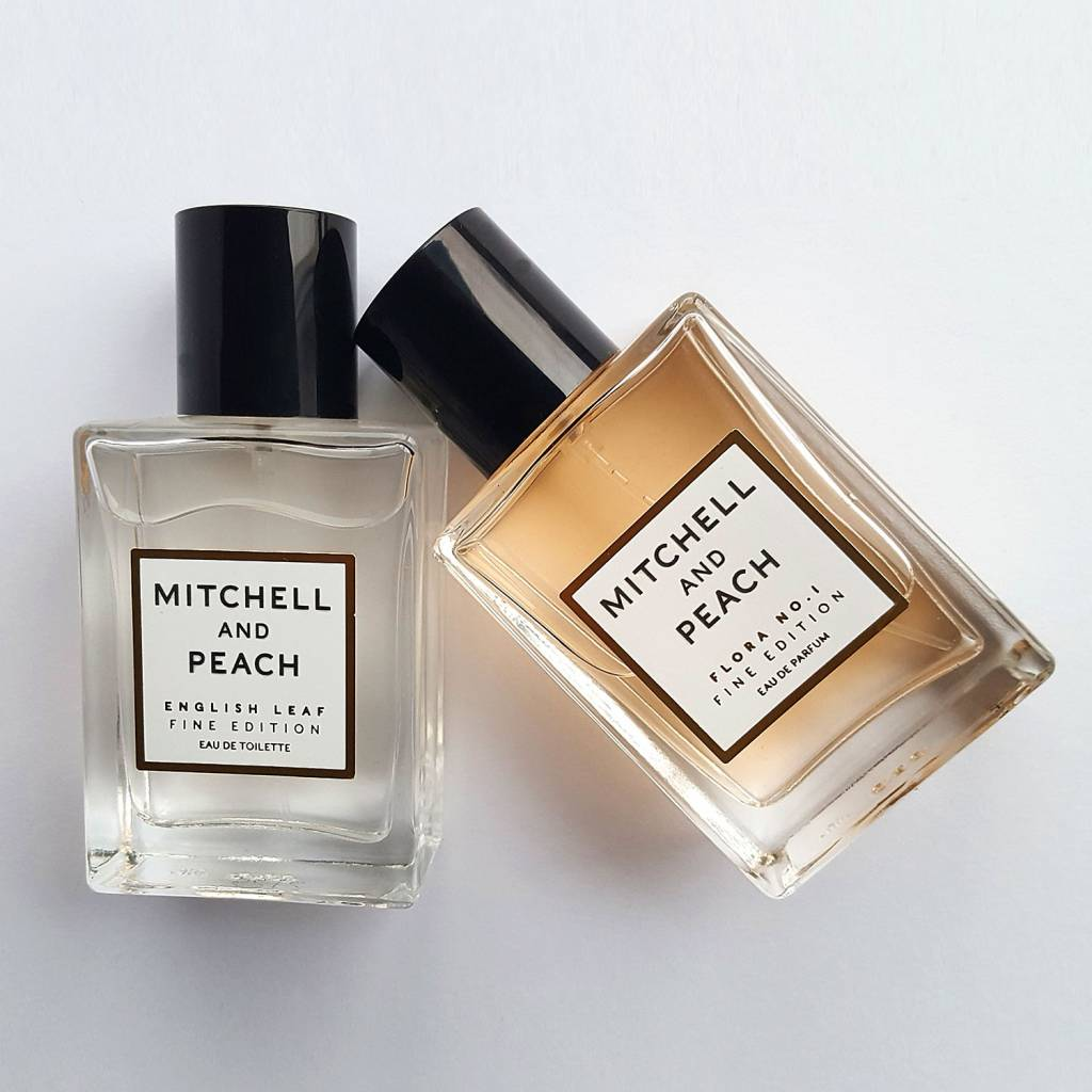 Mitchell and Peach Parfum Sample Set