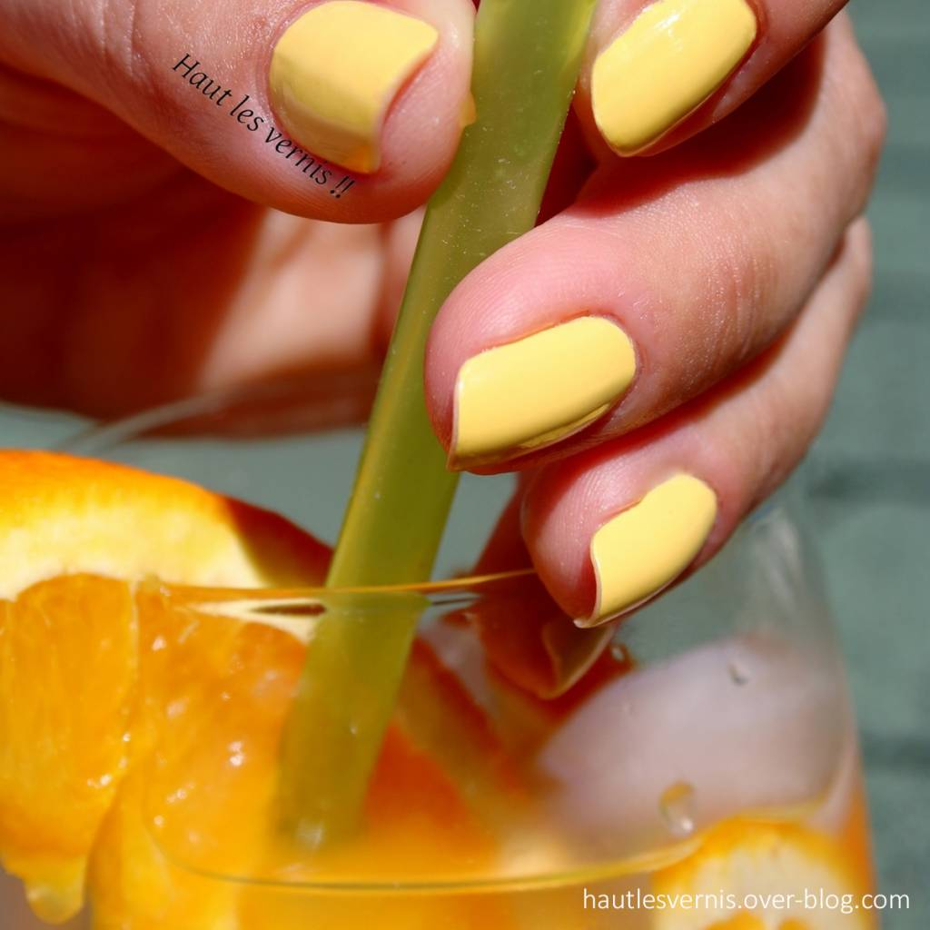Kure Bazaar Lemon Nail Polish