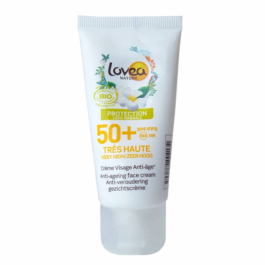 Lovea Bio Anti-Ageing Face Cream SPF50+