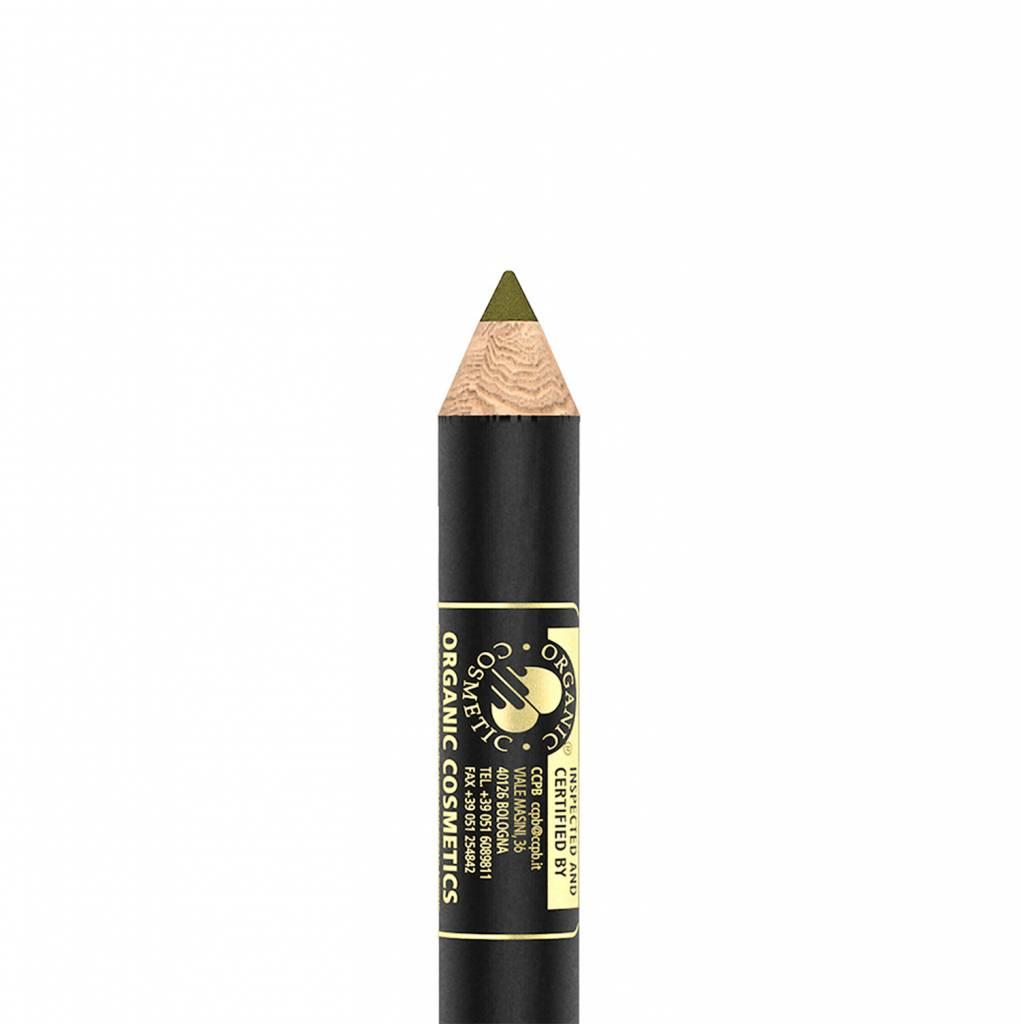 Inika Certified Organic Eyeliner Gold Khaki