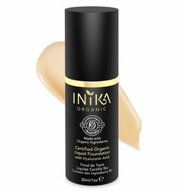Inika Liquid Foundation 4:  Beige