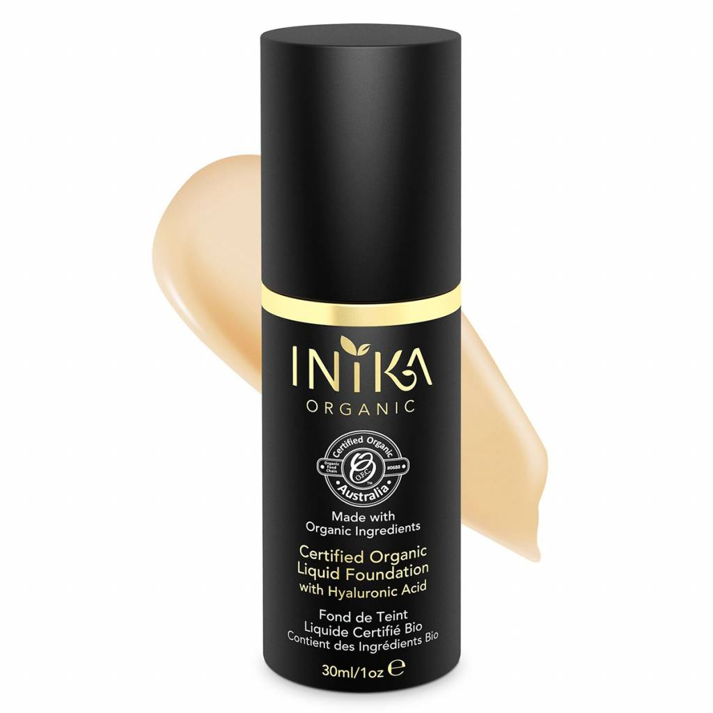 Inika Certified Organic Liquid Foundation 4: Beige