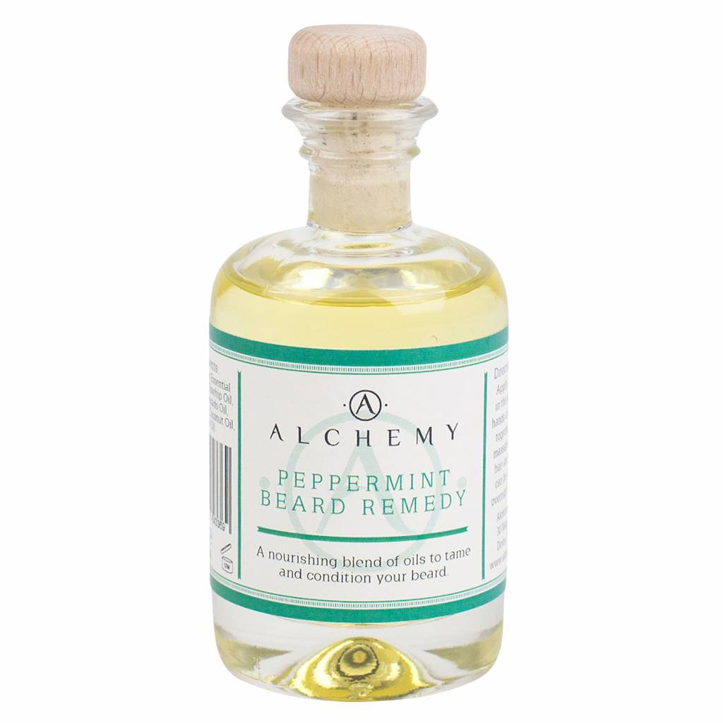 Alchemy Oils Peppermint Beard Remedy Baardolie