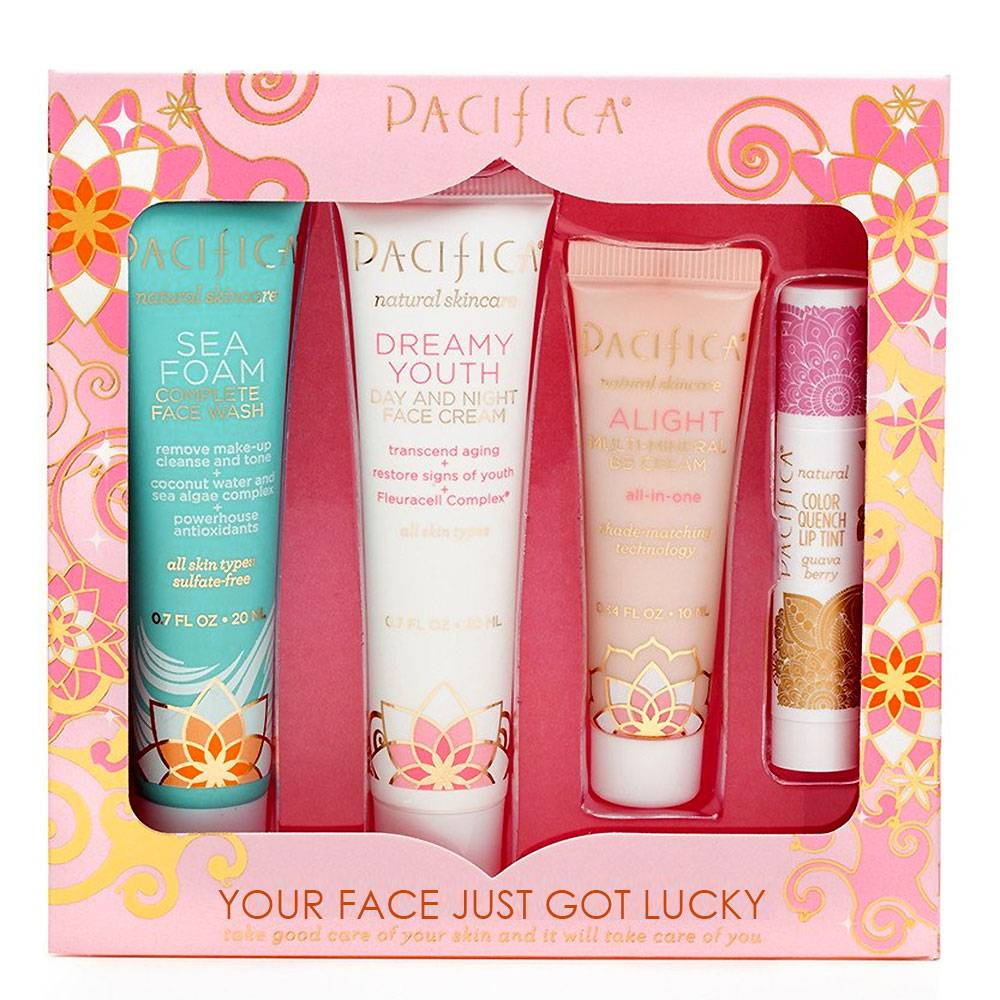 Pacifica Your Face Just Got Lucky Skincare Set 1