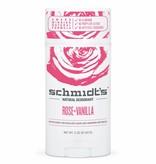 Schmidt's Naturals Natural Deodorant Stick Rose & Vanilla